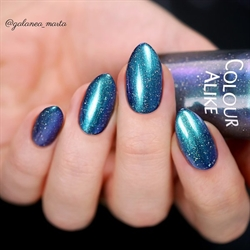 729 Daybreak Blue, Holografisk topcoat, Colour Alike